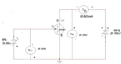 Electronic devices and circuits lab manual fet characteristics circuit diagram ccuart Images