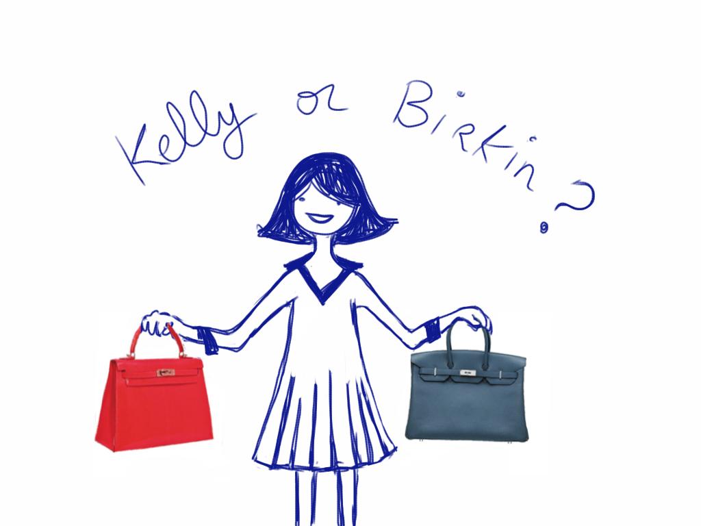 croc kelly bag hermes - Kelly Bag vs Birkin Bag images