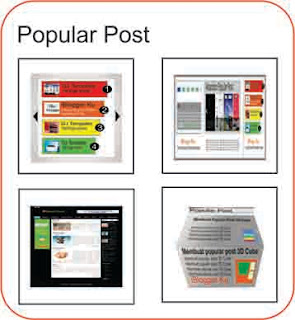Gallery Thumbnail Popular Posts di Blogger