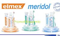 Logo del concorso Palmolive con Elmex e Meridol per vincere 7 buoni per cure dentistiche