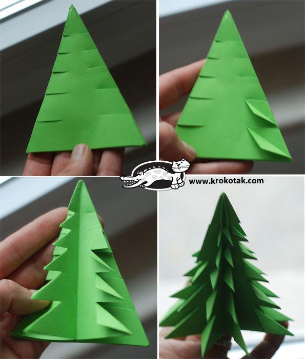 Gut bekannt Kidissimo: Un sapin en origami, chez Krokotak. Dès 6 ans. JX66