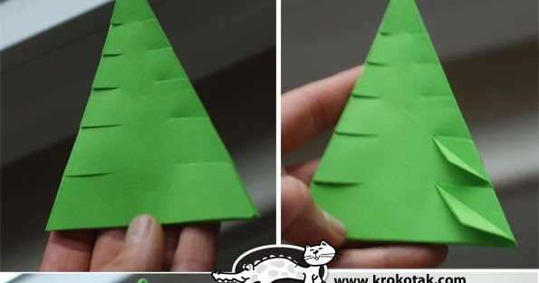 Relativ Kidissimo: Un sapin en origami, chez Krokotak. Dès 6 ans. MP26