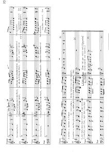 Chorpartitur / Klavierauszug