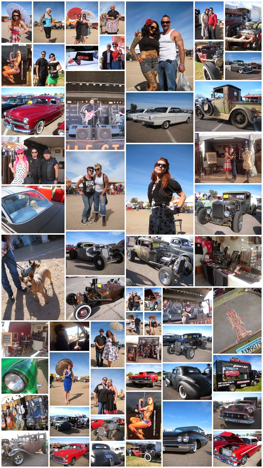 Rockabilly Reunion at Lake Havasu 2014