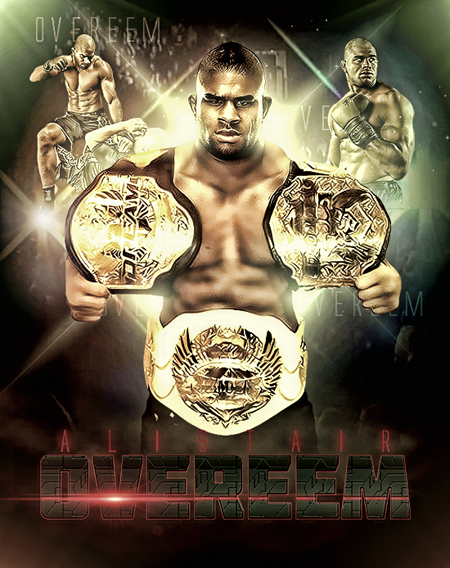 k-1 dream strikeforce mma ufc fighter 3 belts championship alistair overeem wallpaper picture image
