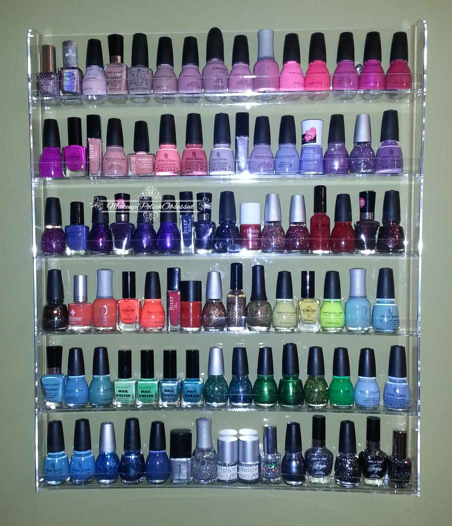 MakeupPolishObsessed.com: Acrylic Nail Polish Rack