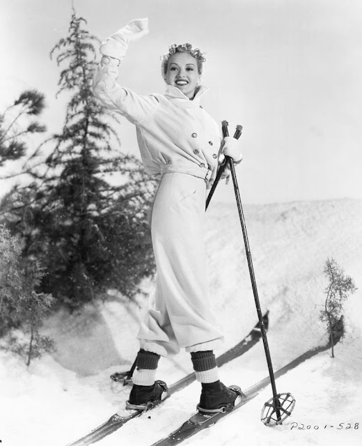 Betty Grable Christmas