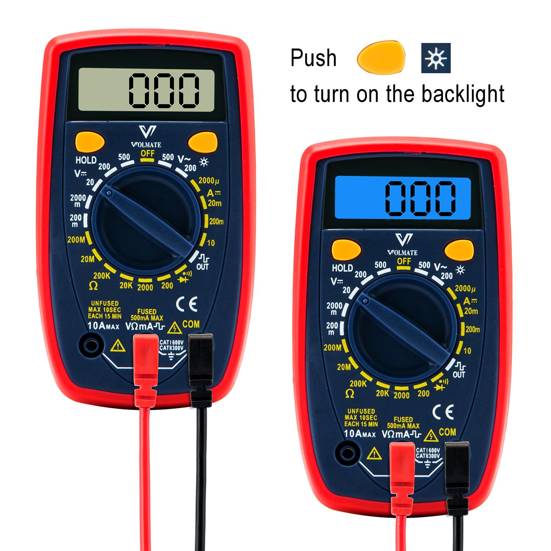 The Aries Man Chronicles Volmate Mini Portable Digital Multimeter Details About Circuit Tester Multi Voltmeter Very Nice Meter