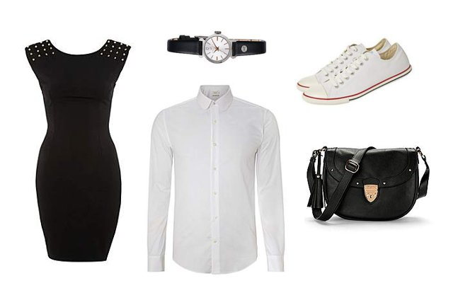 Little Black Dress - 3 ways to style it - Shopping outfit - House Of Fraser