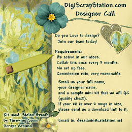 DigiScrapStation Call for Designers
