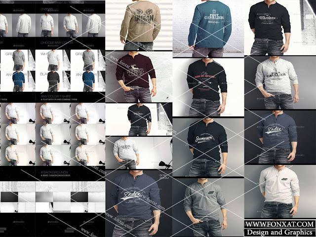 mock up T-shirt