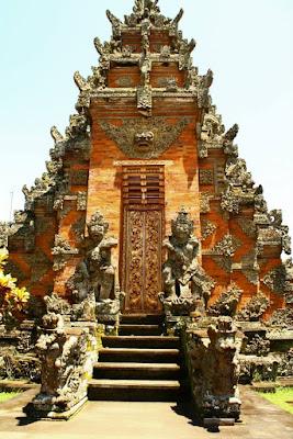 Pura Puseh at Batuan Bali Indonesia
