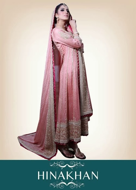 Stunning Bridal Dresses 2013-2014 By Hina Khan