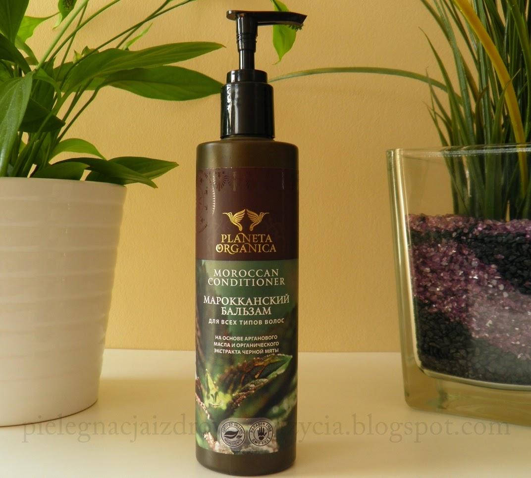 Marokański balsam do włosów Planeta Organica