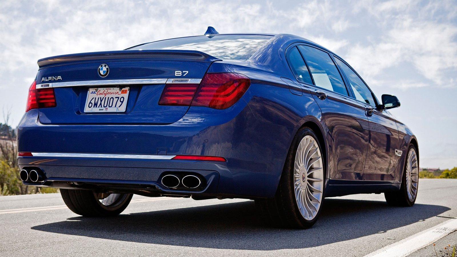 alpina bmw b7   auto review