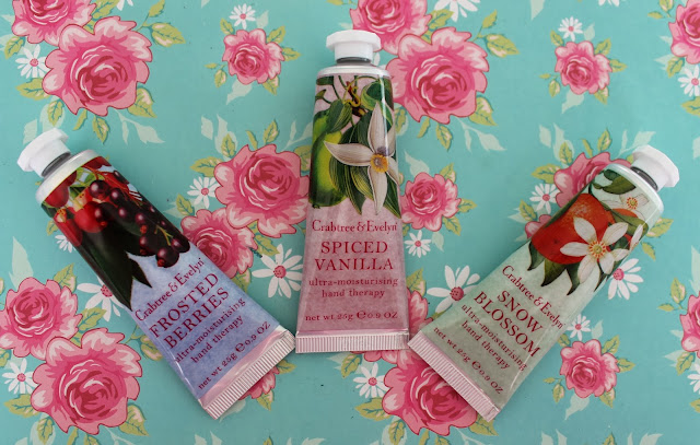crabtree and evelyn ultra moisturising hand therapies