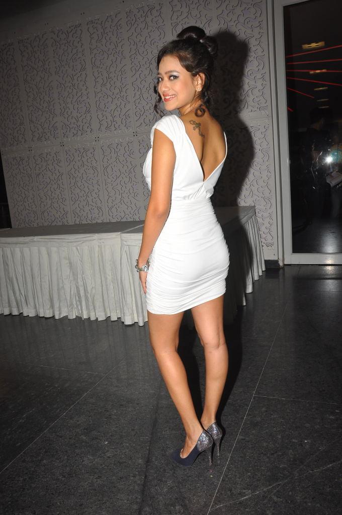 , Madalasa Sharma Pics In White Dress