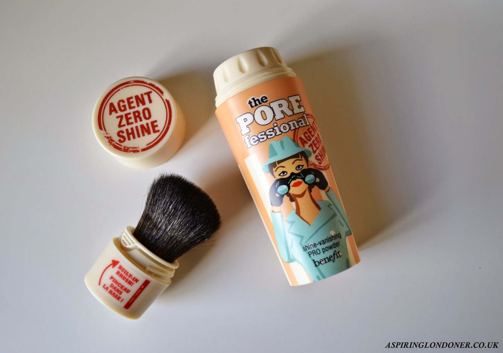 Benefit Cosmetics Porefessional Agent Zero Shine Powder Review - Aspiring Londoner