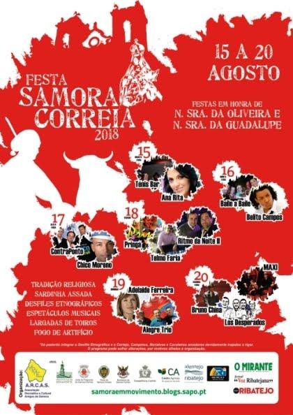 Samora Correia- Festas em Hª de Nª Srª da Oliveira & Nª Srª da Guadalupe 2018