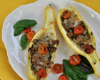 Macaroni And Cheese Stuffed Vegetable Boats Recipes — Dishmaps