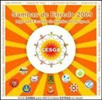 capa do CD dos sambas de enredo das escolas de samba do grupo de acesso do Rio de Janeiro.
