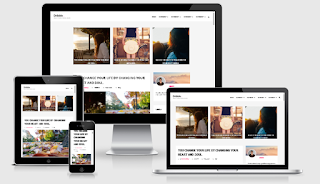 Template Blog Drible Clean & Responsive