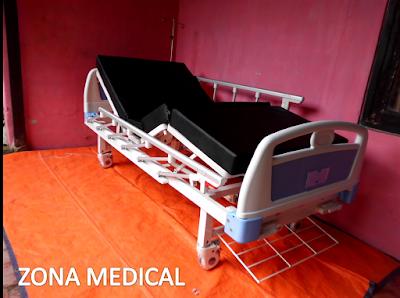 Tempat Tidur Pasien Rumah Sakit ABS 2 Crank SELLA [ RZ-29B ]