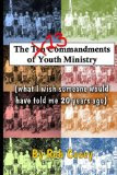 The 13 Commandments of Youth Ministry