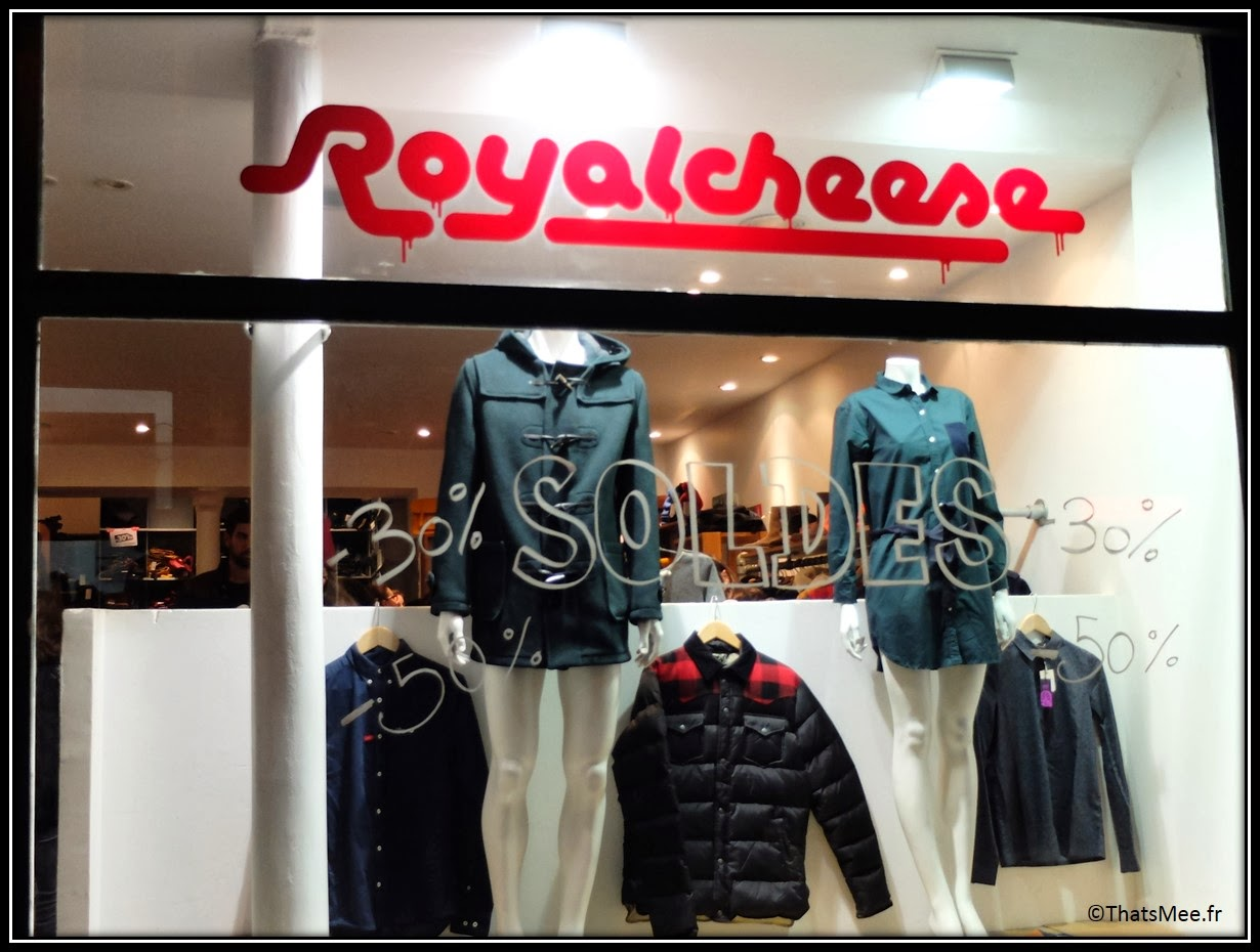 Royal Cheese hipster shopping fashion street style rue Tiquetonne Paris Montorgueil multimarque