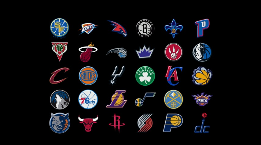 Features: Bootup screen with alternate NBA team logos.