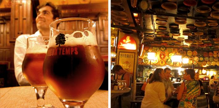 Bruxelles - bières Au Bon Vieux Temps et au Délirium - http://spicerabbits.blogspot.fr/