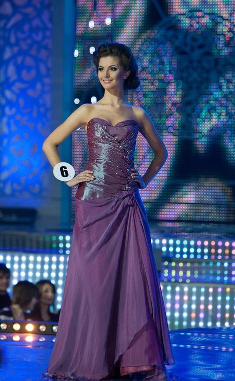 SASHES AND TIARASMiss Belarus 2012 Winner Gowns