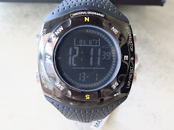 NATIONAL GEOGRAPHIC NG702GKSK SKI MASTER WATCH - TRIPLE SENSOR
