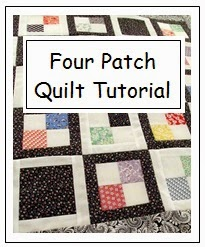 free pattern to make a 4-Patch quilt