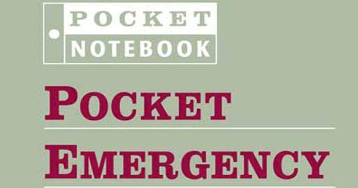 Download Pocket Emergency Medicine (Pocket Notebook Series) Pdf Ebook