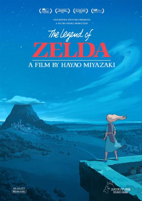 Zelda Hayao Miyazaki