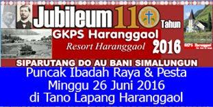 Berita Puncak J110 Tahun GKPS Haranggaol
