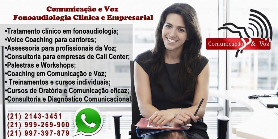 Comunicação & Voz - Cursos e Treinamentos em Comunicação / Assessoria Vocal.