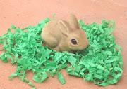 El Conejo de Pascua y Frankenstein conejito