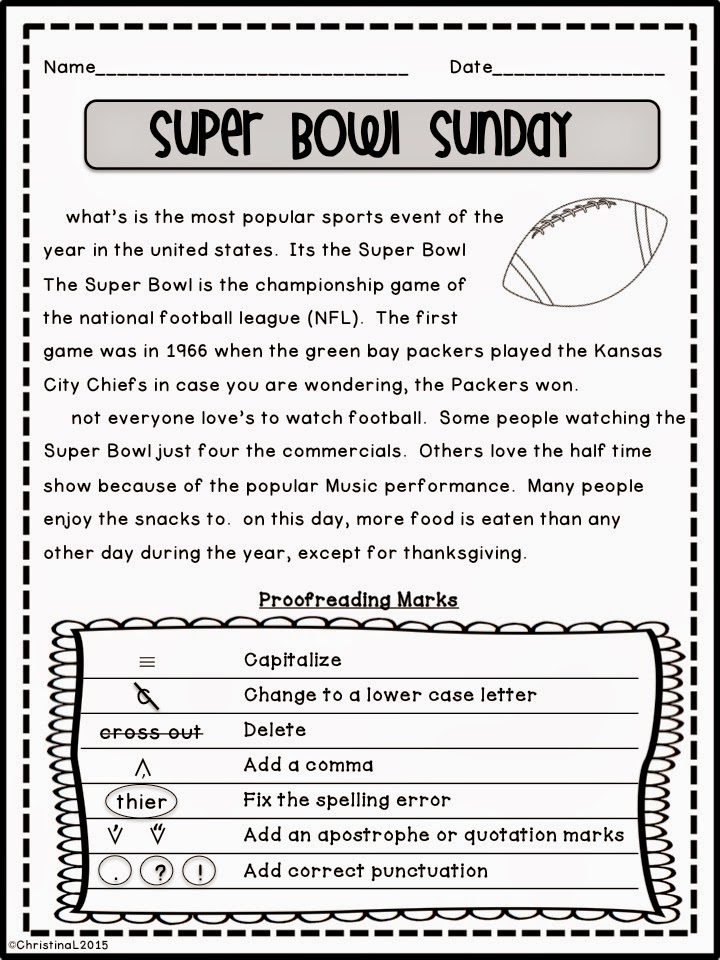 Printables Free Proofreading Worksheets worksheets 5th grade davezan proofreading davezan
