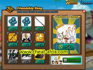 Cheat Friendship Kunai Ninja Saga New