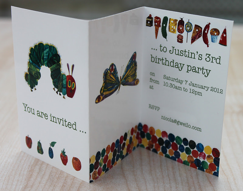 Snowballs in Summer: A Very Hungry Caterpillar birthday party