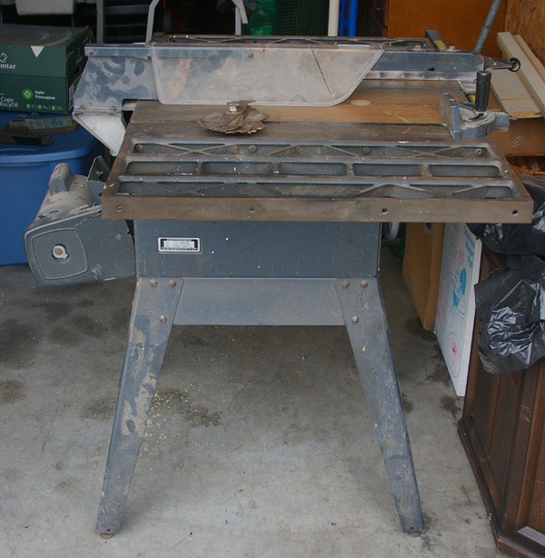 Sawdust Rust Blood Craftsman 10 Table Saw Model No