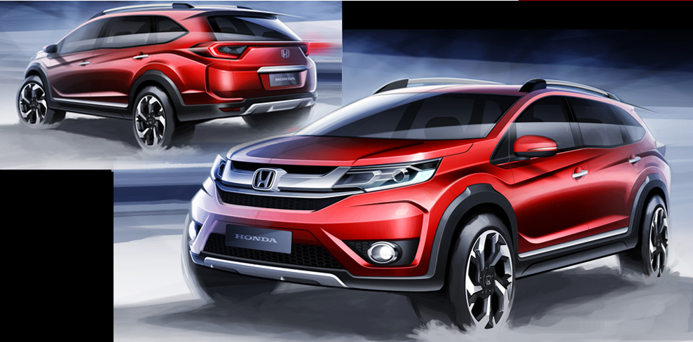 whats the difference between the honda crv and the hrv. Black Bedroom Furniture Sets. Home Design Ideas