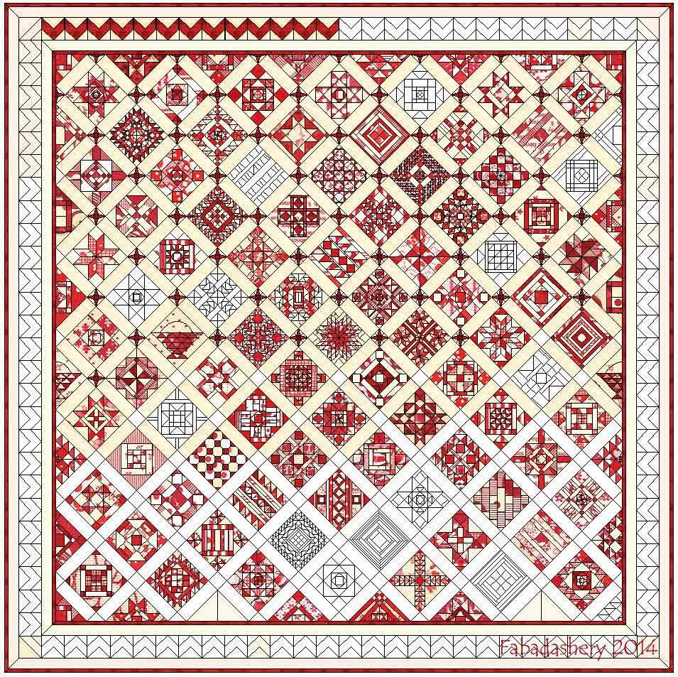 Nearly Insane Quilt - Electric Quilt Software