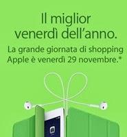 Black Friday 2013 - Venerdì 29 è la giornata dello shopping su Apple Online Store