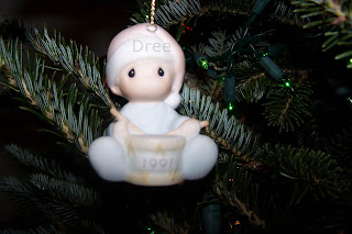 Baby's First Christmas Ornament 1991