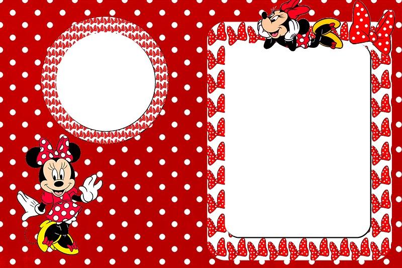 Molduras de Minnie Mouse - Imagui