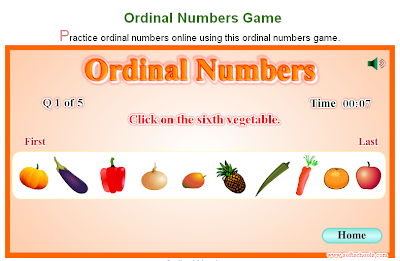 technology rocks. seriously.: Ordinal Number Activities & Resources