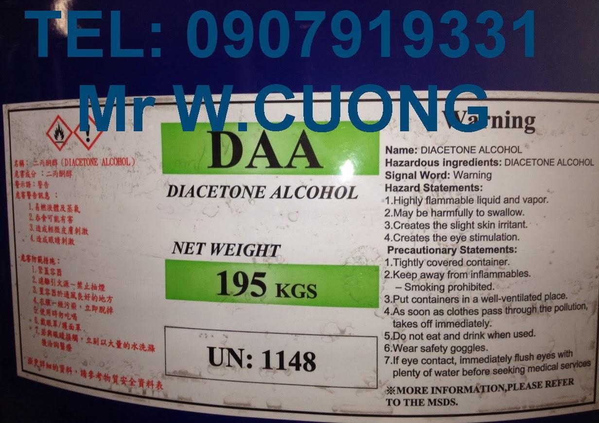 DIACETONE ALCOHOL - DAA